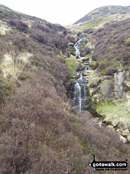 Oaken Clough nr Black Chew Head (Laddow Rocks)