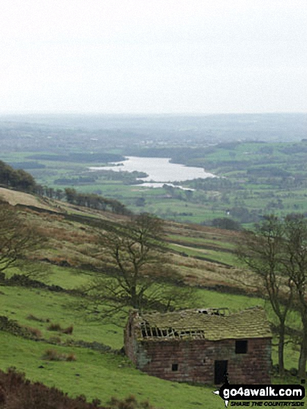 Tittesworth Reservoir from The Roaches