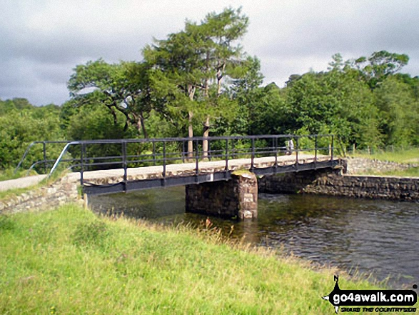 Bridge over The River Ehen at Ennerdale Weir