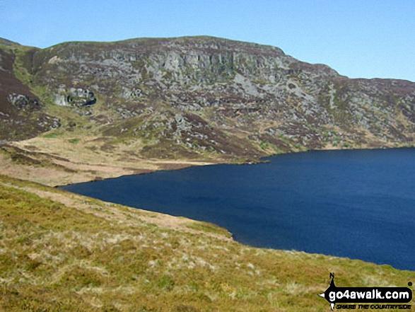 Bryn y Dyfrgi above Llyn Arenig Fawr