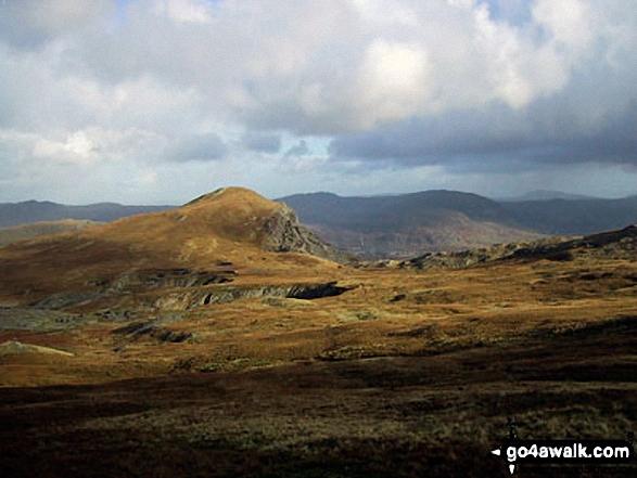 Moel-yr-hydd from Moelwyn Mawr (North Top)
