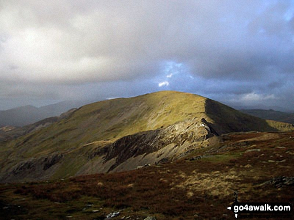 Walk Moelwyn Mawr walking UK Mountains in The Moelwyns Snowdonia National Park Gwynedd    Wales