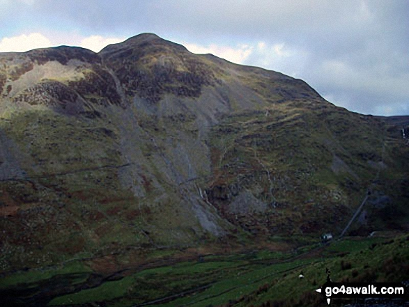 Cnicht from Croesor Quarry