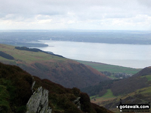 Anglesea and Conwy Bay from the summit of Yr Orsedd