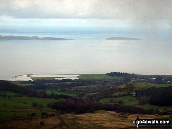 Conwy Bay from the summit of Foel Dduarth