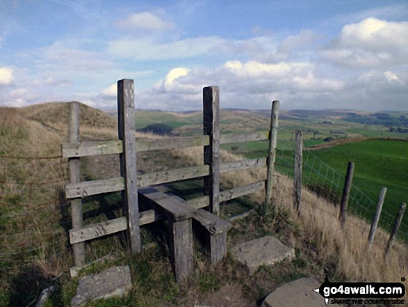 Stile on Chinley Churn