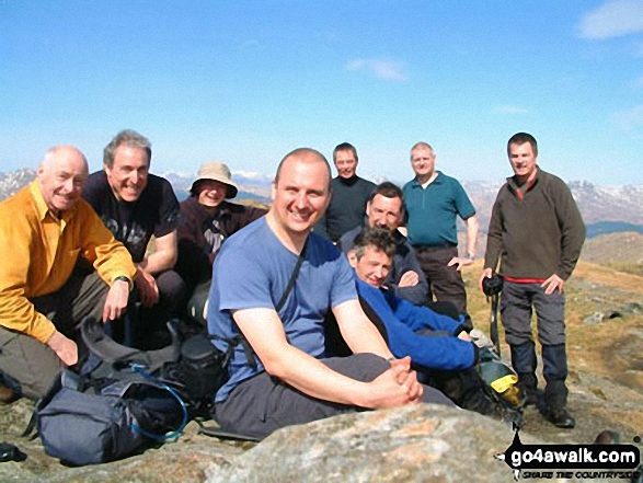 Top Dog Hikers on Beinn Chabhair
