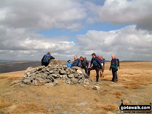 Topdog hikers on Wild Boar Fell