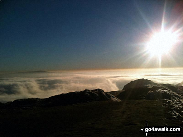 Temperature Inversion seen from on top of The Wrekin