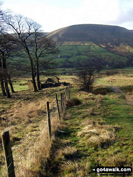 Brown Knoll (Edale) from near Upper Booth