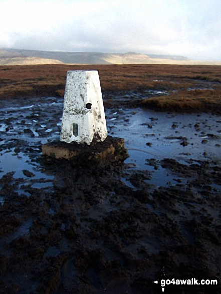 Brown Knoll (Edale) summit trig point