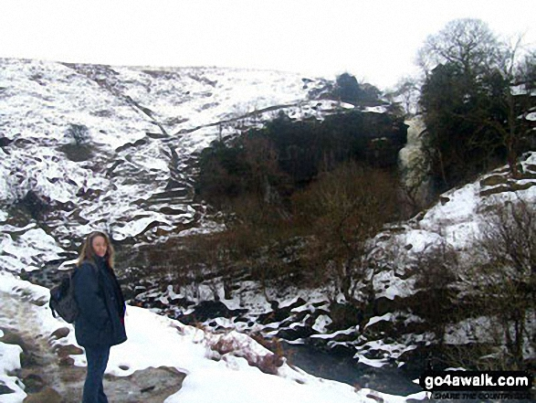 Near Ingleton in the snow