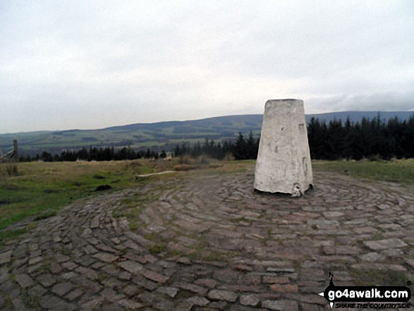 Beacon Fell (Forest of Bowland) summit trig point