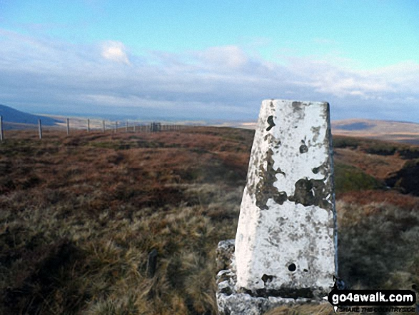 Whins Brow summit trig point