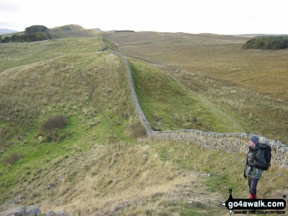 On the Hadrian's Wall walk