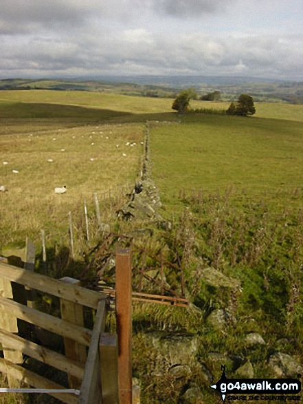 The view from Hadrian's Wall