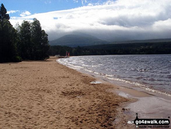 Loch Morlich with Cairn Gorm beyond