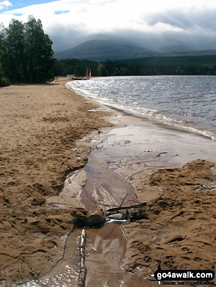 Cairn Gorm from the shores of Loch Morlich