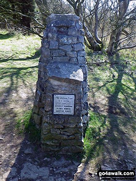 Nation Trust Donation Pillar, Arnside Knott
