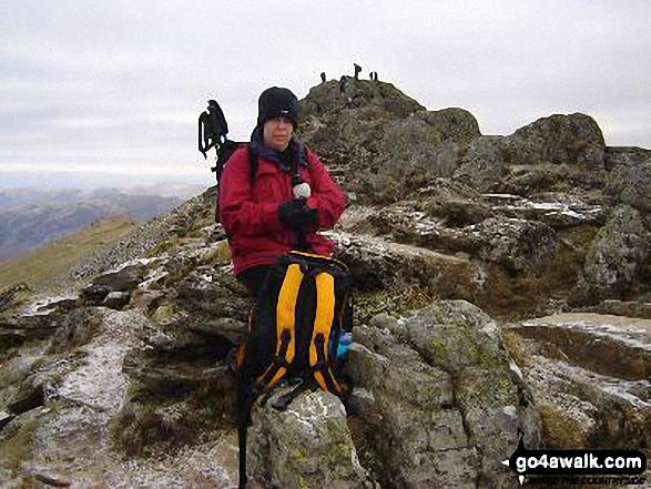 Walk Picture/View: On Striding Edge in The Lake District, Cumbria, England by Terry Maddocks (1)