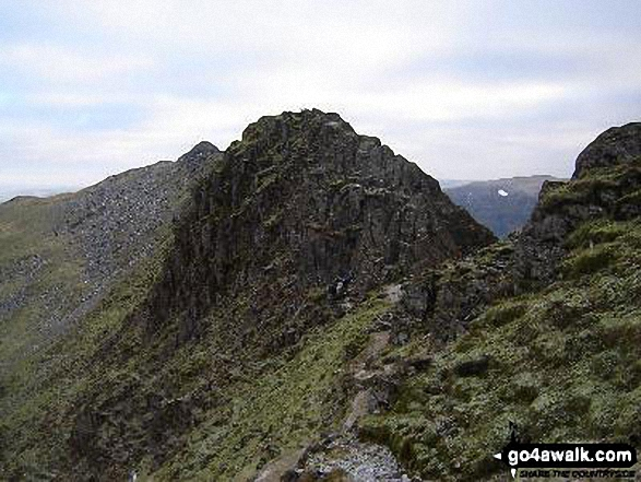 The Bad Step on Striding Edge