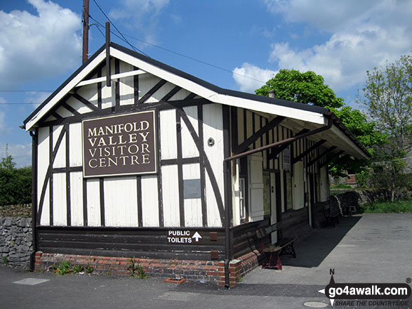 The former railway station at Hulme End - now The Manifold Valley Visitor Centre