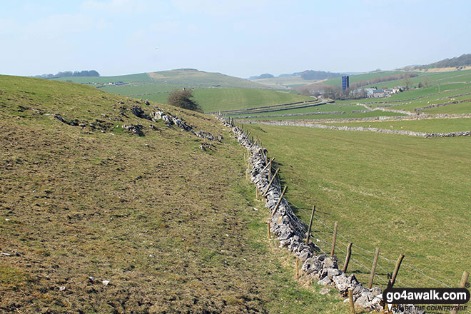Upper Dove Dale from near Darley Farm