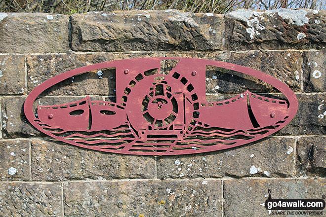 Wall sign at Parsley Hay