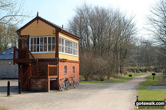 Hartington Station and former Signal Box