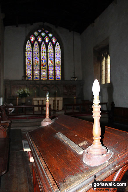 Inside St Giles' Church, Hartington