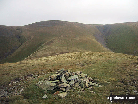 Great Sca Fell from the summit cairn on Meal Fell