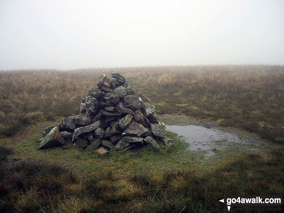 Great Sca Fell summit cairn