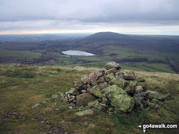 Over Water from the summit cairn on Longlands Fell