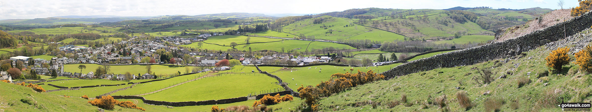 Staveley from Reston Scar