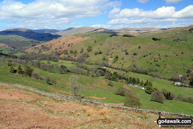 The River Kent valley from Hugill Fell