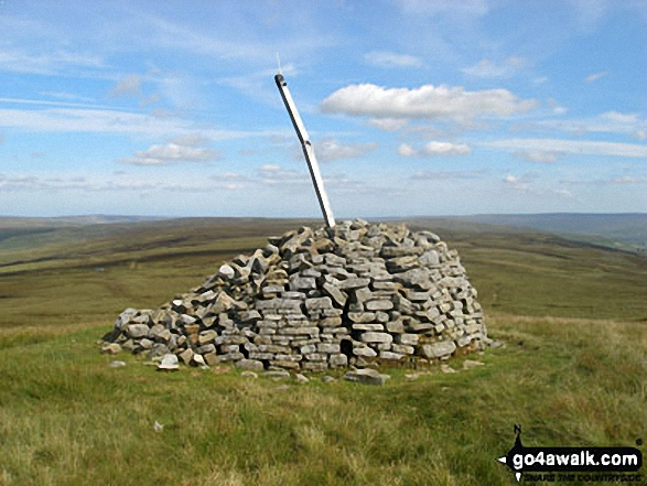 Killhope Law summit cairn