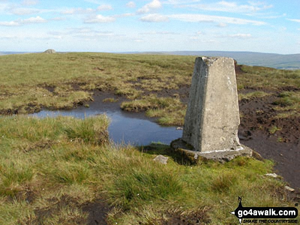 Killhope Law summit trig point