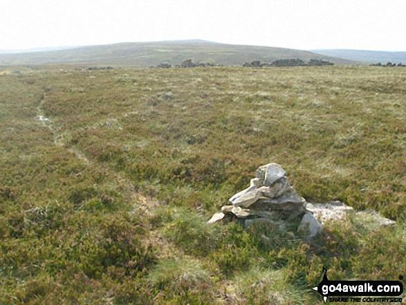 Cairn on Killhope Moor