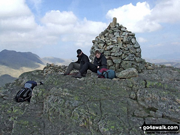 Pike of Blisco (Pike o' Blisco) summit cairn