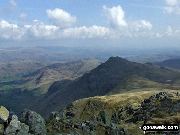 Pike of Blisco (Pike o' Blisco) from Crinkle Crags (South Top)