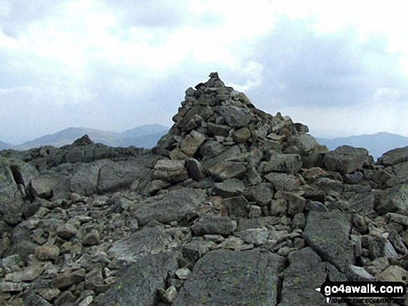 Crinkle Crags (Long Top) summit