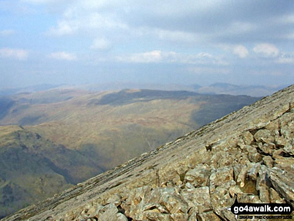 Bow Fell (Bowfell)'s Great Slab