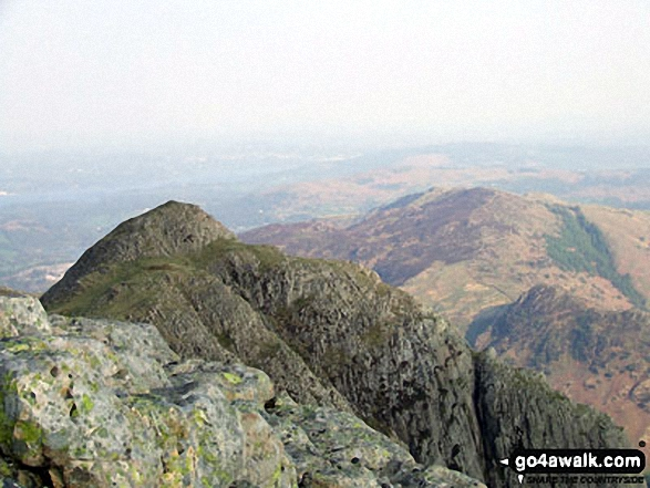 Loft Crag from Pike of Stickle (The Langdale Pikes)