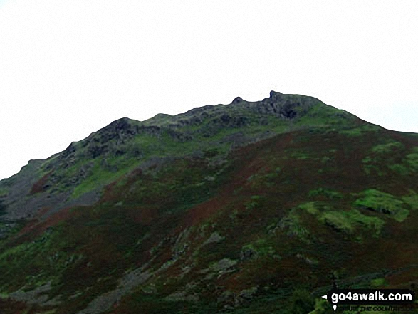Helm Crag from Greenburn Bottom
