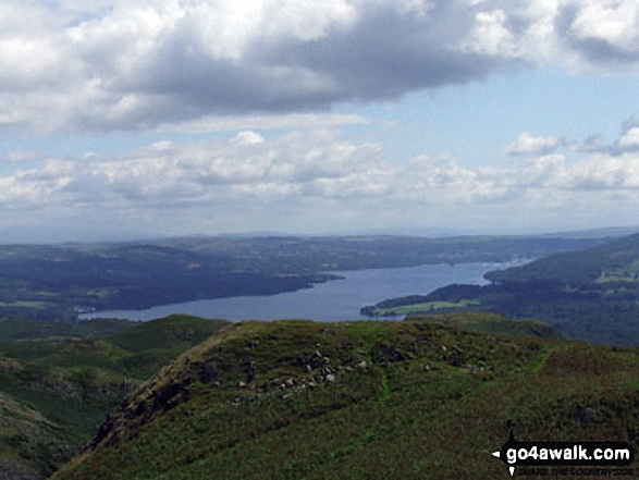 Windermere from Loughrigg Fell summit