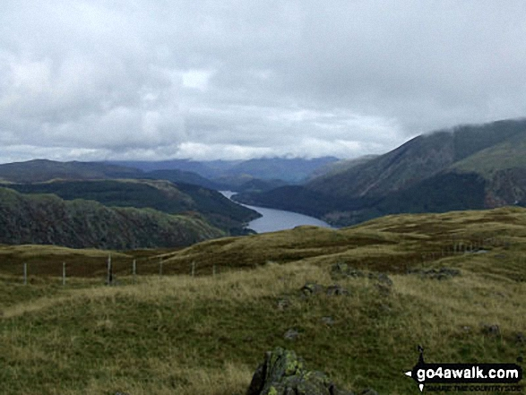 Thirlmere from Steel Fell (Dead Pike)