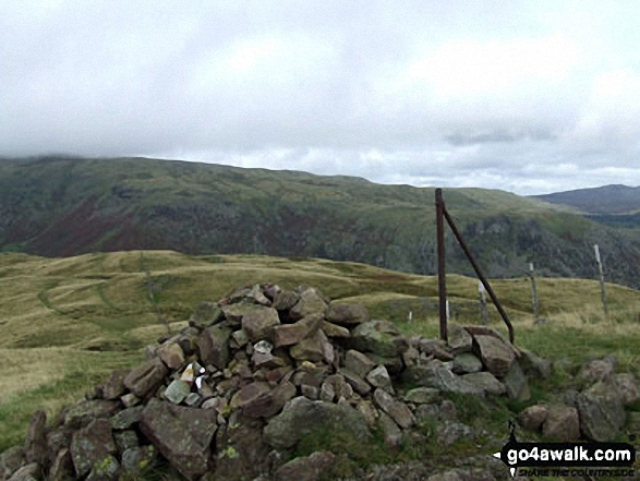 Greenup Edge and the Wythburn Fells from Steel Fell (Dead Pike) summit