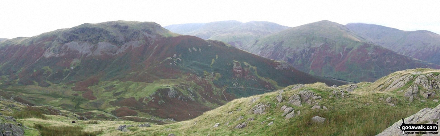 Steel Fell (left) and Seat Sandal (right) from Helm Crag