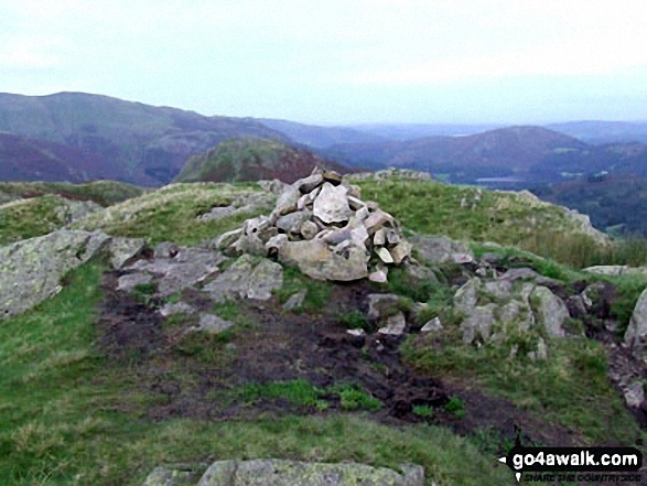 Helm Crag summit cairn