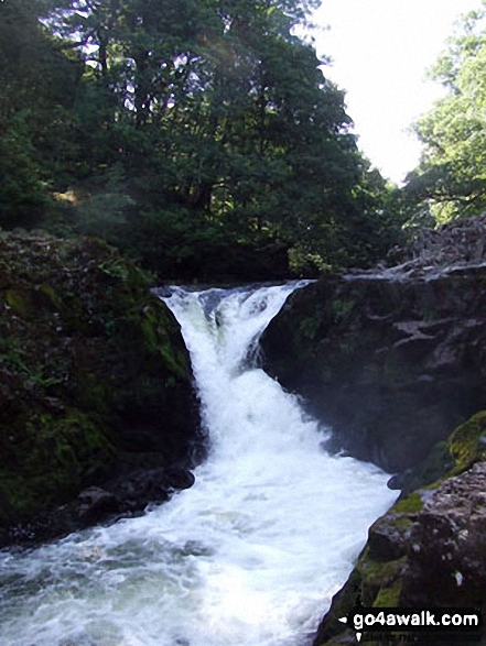 Skelwith Force near Skelwith Bridge